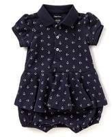 Ralph Lauren Baby Girls 3-24 Months Anchor-Print Romper