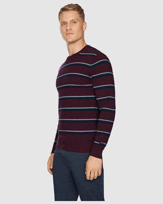 TAROCASH Thornbury Stripe Knit