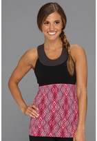 Lucy Novelty Balance Top (Ditsy Pink Geo Tribal Print) - Apparel