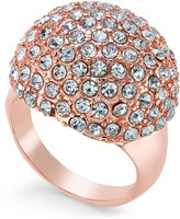 Thalia Sodi Rose Gold-Tone Pavé Dome Ring, Only at Macy's