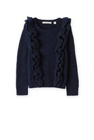 Country Road Double Ruffle Knit