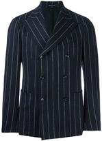 Tagliatore pinstripe double breasted jacket