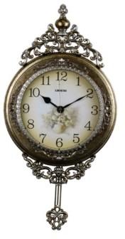 Orient Three Star Wall Clock with Pendulum