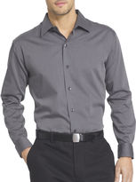 Van Heusen Long-Sleeve Sateen Stripe Woven Shirt