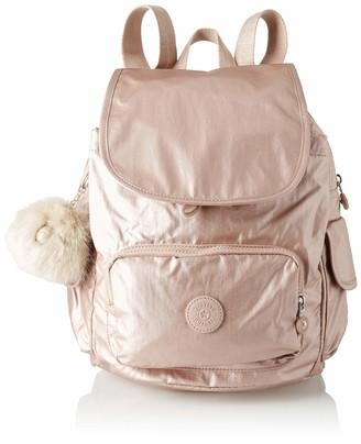 Kipling City Pack S Womens Backpack Multicolour (Marine Stripy) 27x33.5x19 cm (W x Dx H)