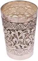 Indian Shelf IndianShelf Handmade Decorative Brass Silver Polished Lassi Water Milk Drinkware Glass Online