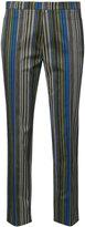 Akris Punto striped crop trousers