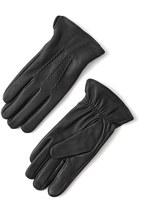 Frank & Oak Deerskin Gloves in Black