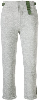 Mr & Mrs Italy Cropped Jogging Trousers
