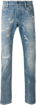 Dolce & Gabbana distressed jeans - men - Cotton - 48