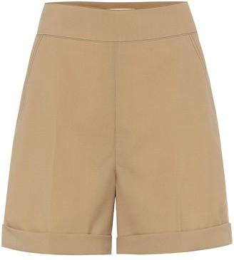 Marni High-rise virgin wool shorts