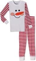 Sara's Prints Unisex & Stripes 2 Piece Pajama Set, Kids