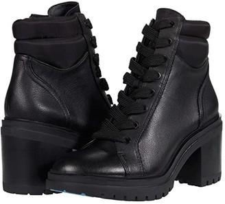 Kenneth Cole New York Rhode Heel (Black Leather) Women's Boots
