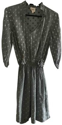 Petite Mendigote Blue Cotton Dress for Women