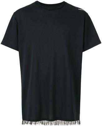 Yoshio Kubo Yoshiokubo fringed T-shirt