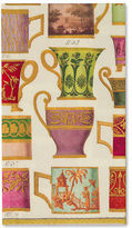 Caspari NEW Salon De The Ivory Guest Towel 15pce
