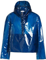 Jil Sander Portland Half Zip Rain Jacket with Hood