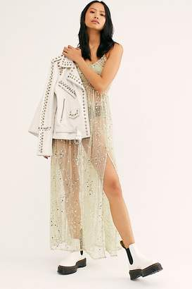 Free People Staring At The Sun Maxi Sequin Slip by Intimately at