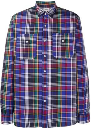 Woolrich Check Print Shirt