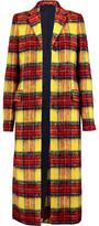 Acne Studios Alexa Checked Wool-Blend Coat