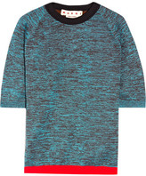 Marni Wool-blend Top - Turquoise