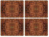 Pimpernel Walnut Burlap Placemats (Set of 4)