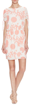 Corey Lynn Calter Trista Printed Dress with Knotted Sleeves