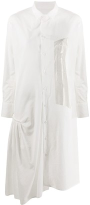 Y's Poplin Shirt Dress