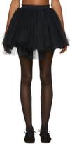 Molly Goddard Black Me Miniskirt