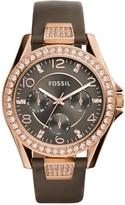 Fossil Women's Riley Quartz Multi-Function Watch