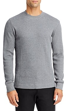 Theory Mattis Waffle Knit Crewneck Sweater