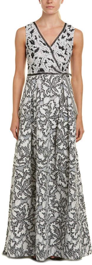 Carolina Herrera Silk-Lined Gown