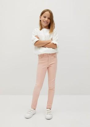 MANGO Skinny Coated jeans pink - 5 - Kids