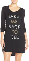 Junk Food Clothing Take Me Back to Bed Sleep Shirt