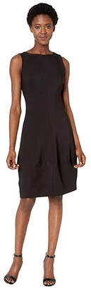 Nic+Zoe Guest List Dress (Black Onyx) Women's Dress