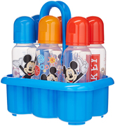 Mickey Mouse Six-Pack 9 Oz. Baby Bottle Set