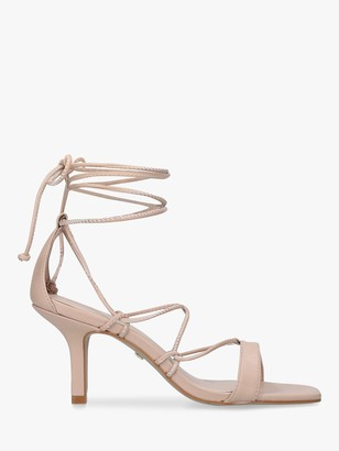 Carvela Gorge Leather Strappy Tie Detail Sandals