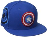 New Era Cap Men's Fresh Side Fitted Captain America 59fifty