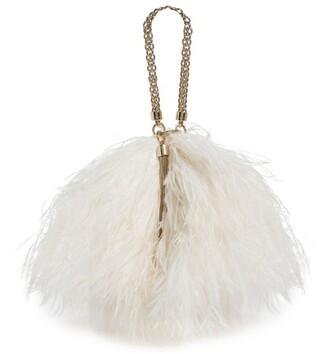Jimmy Choo Callie Feather Clutch Bag