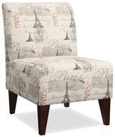 Apt2B Westin Accent Chair PARIS SCRIPT