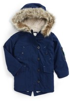 Toddler Girl's Mini Boden Parka