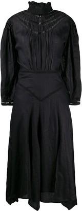 Etoile Isabel Marant Albane ruffled-neck dress