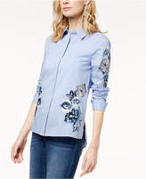 INC International Concepts I.N.C. Embroidered Shirt, Created for Macy's