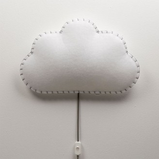 Moho - Textile Wall Cloud Lamp - polyester   Blue