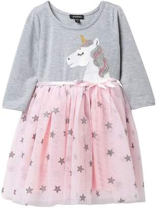 Zunie Unicorn TuTu Dress (Toddler & Little Girls)