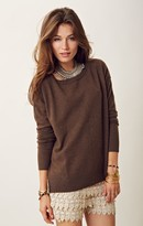 Feel The Piece Boxy Cashmere Pullover