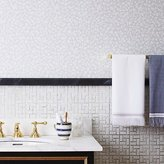 CB2 The Hill-Side floral self-adhesive wallpaper