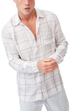 Cotton On Men's Premium Check Shirt