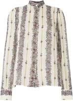 Giambattista Valli embroidered long-sleeve shirt