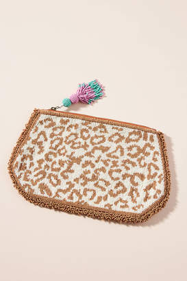 Anthropologie Harrison Embellished Pouch